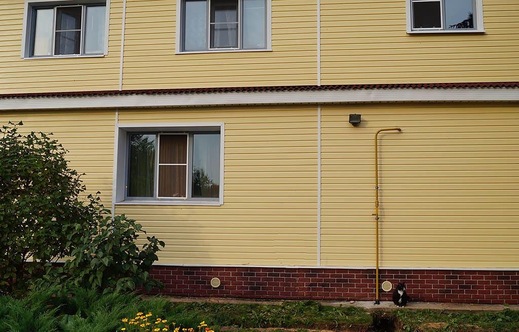 Газовый ввод низкого давления в дом от газгольдера - компания ГАЗБУРГ
