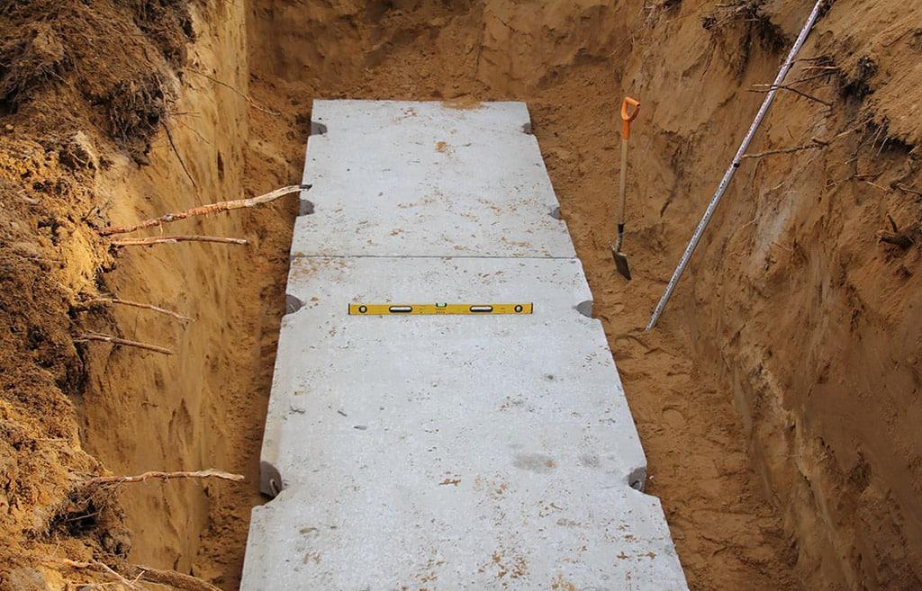 Установка бетонного основания по уровню для установки газгольдера - компания ГАЗБУРГ