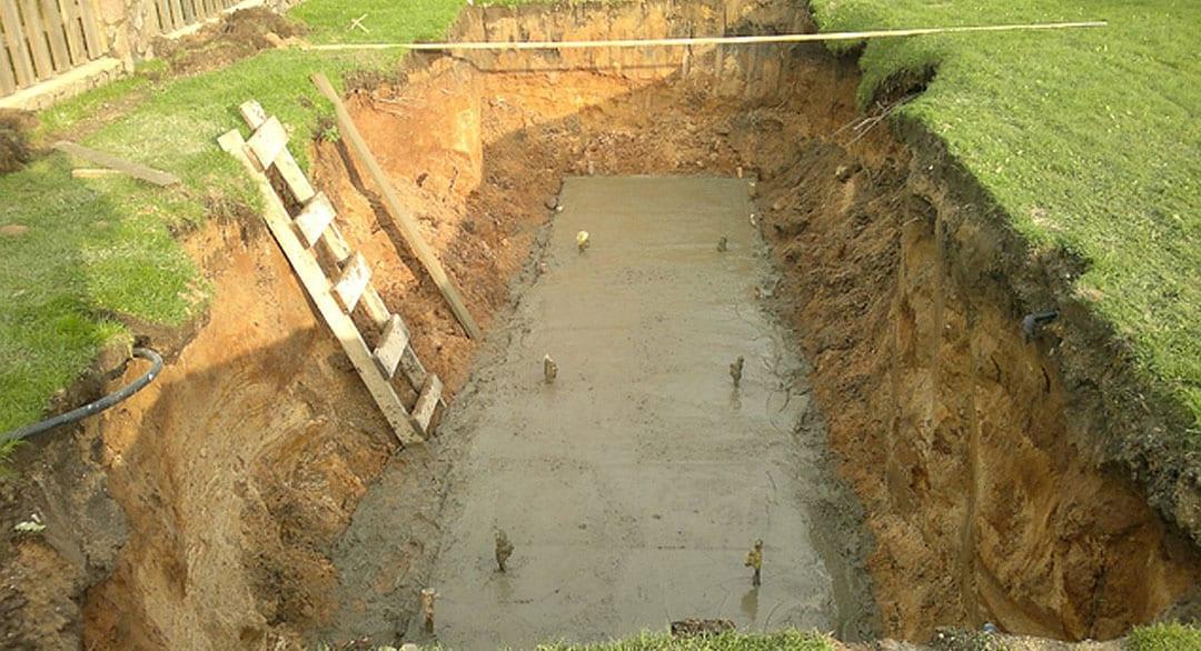 Заливка бетонного основания по уровню для установки газгольдера - компания ГАЗБУРГ