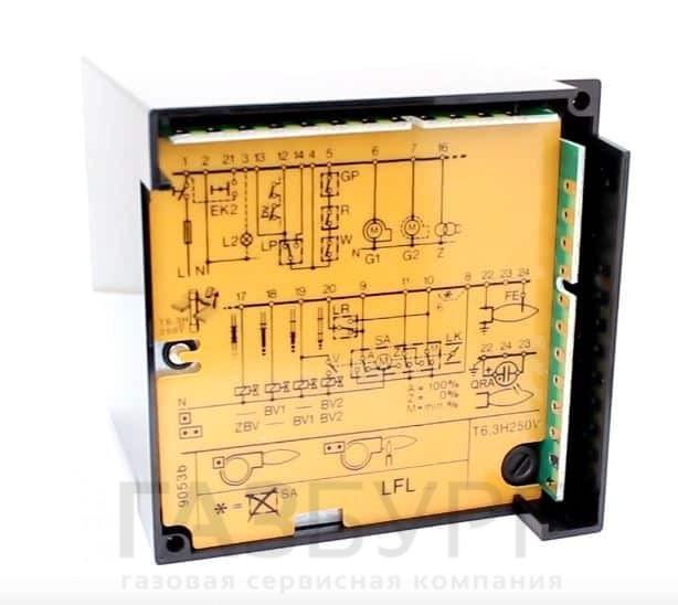 Купить автомат горения Siemens LFL1.122-110V в Екатеринбурге
